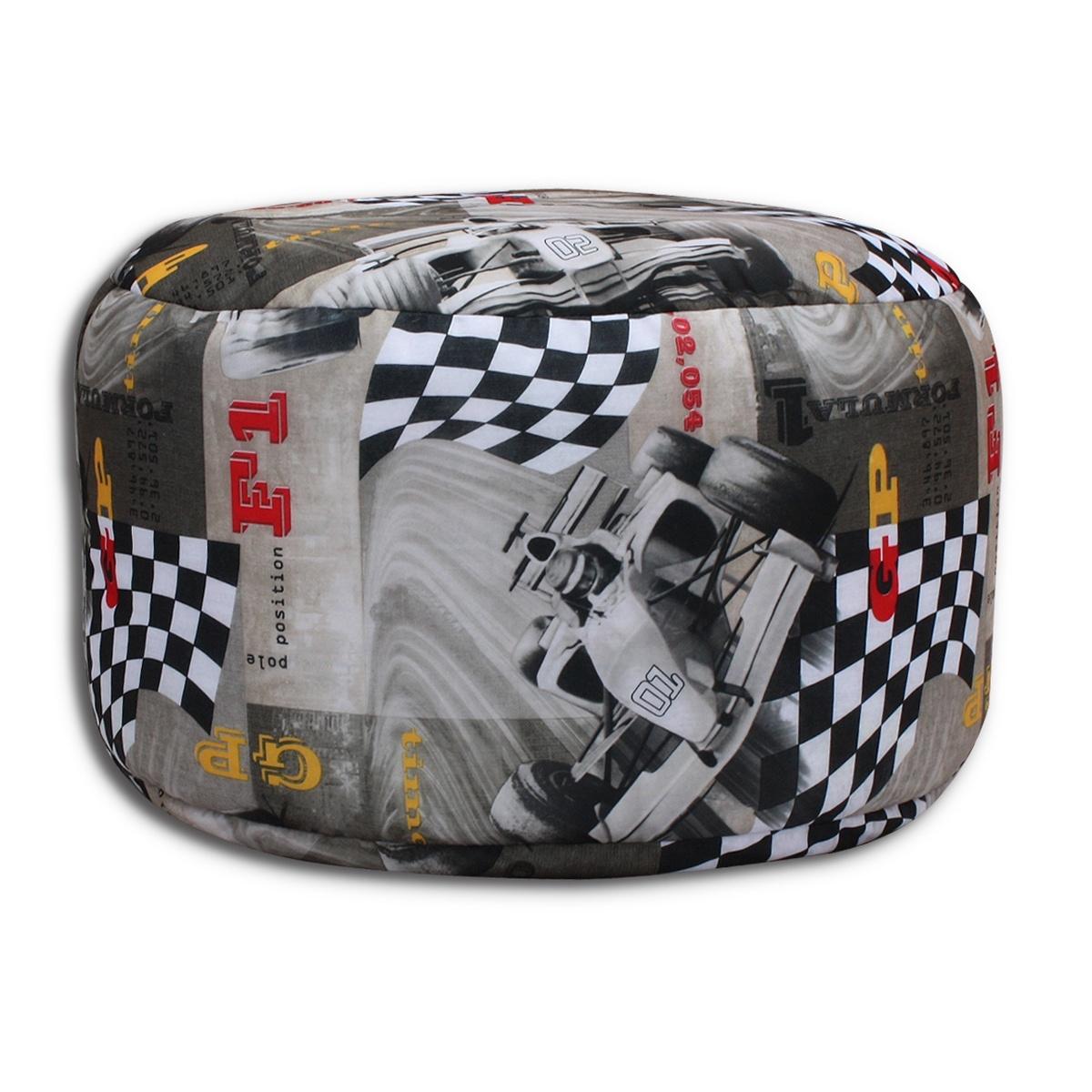 Pouf seduta riempito con polistirolo palline 40x65cm ebay for Poltrona polistirolo